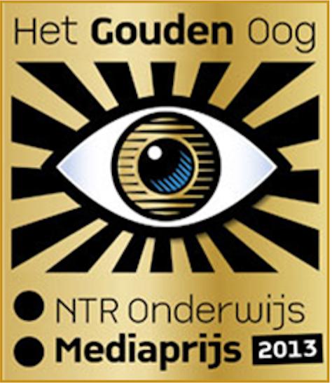 """De WiskundeAcademie wint het """"Gouden Oog"""" NTR onderwijs media prijs"""